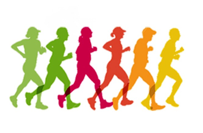 666x437 Running 5k Race Clipart Clipart Kid