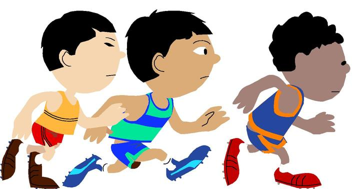 720x378 Running Race Clipart