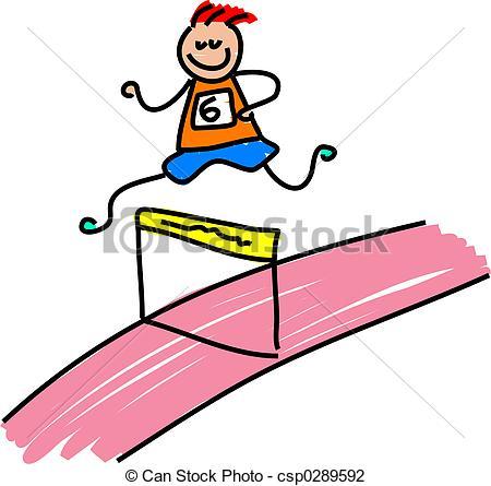 450x445 Race Clipart Child Athletics