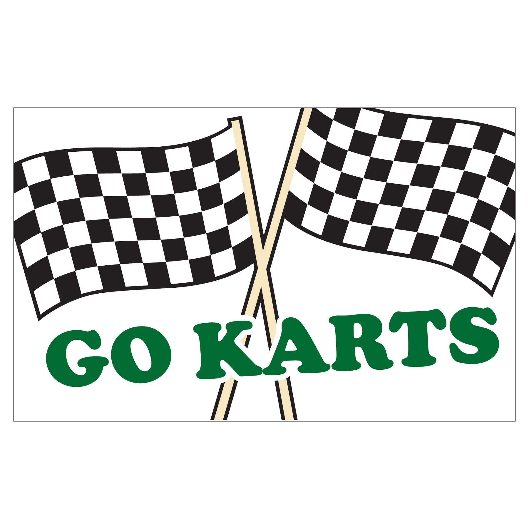 1800x1800 Race Clipart Go Kart