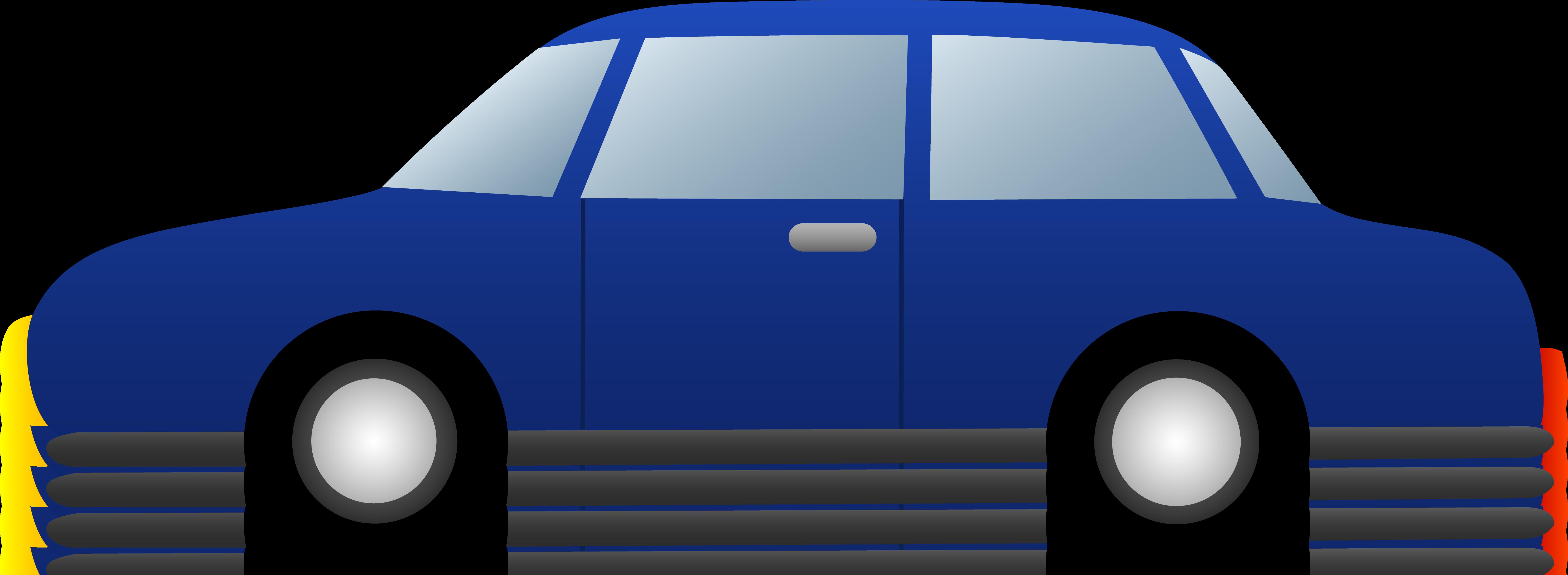 7122x2615 Simple Clipart Race Car