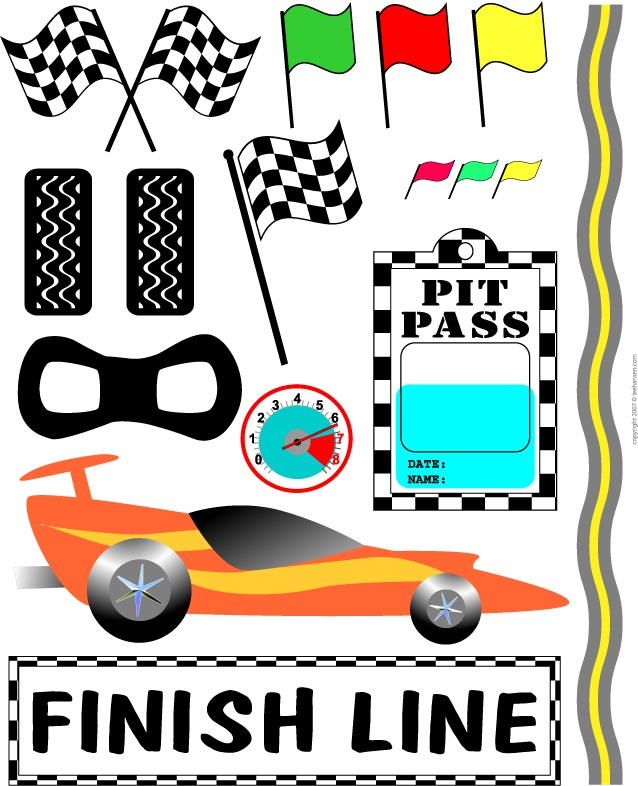 638x786 Race Car Clipart Race Track