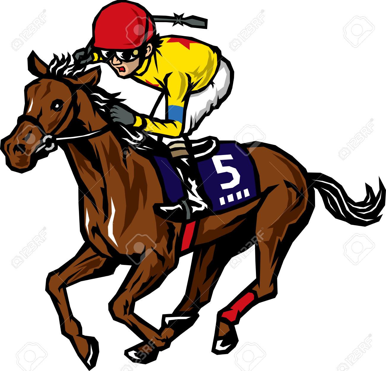 1300x1252 Racing Clipart Horse Race
