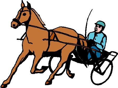 Race Horse Clipart