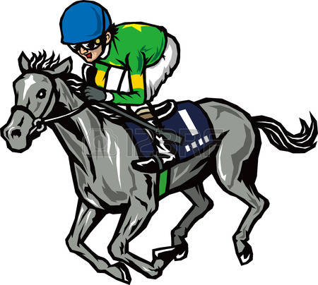 450x404 Horse Racing Clipart Drag Racing