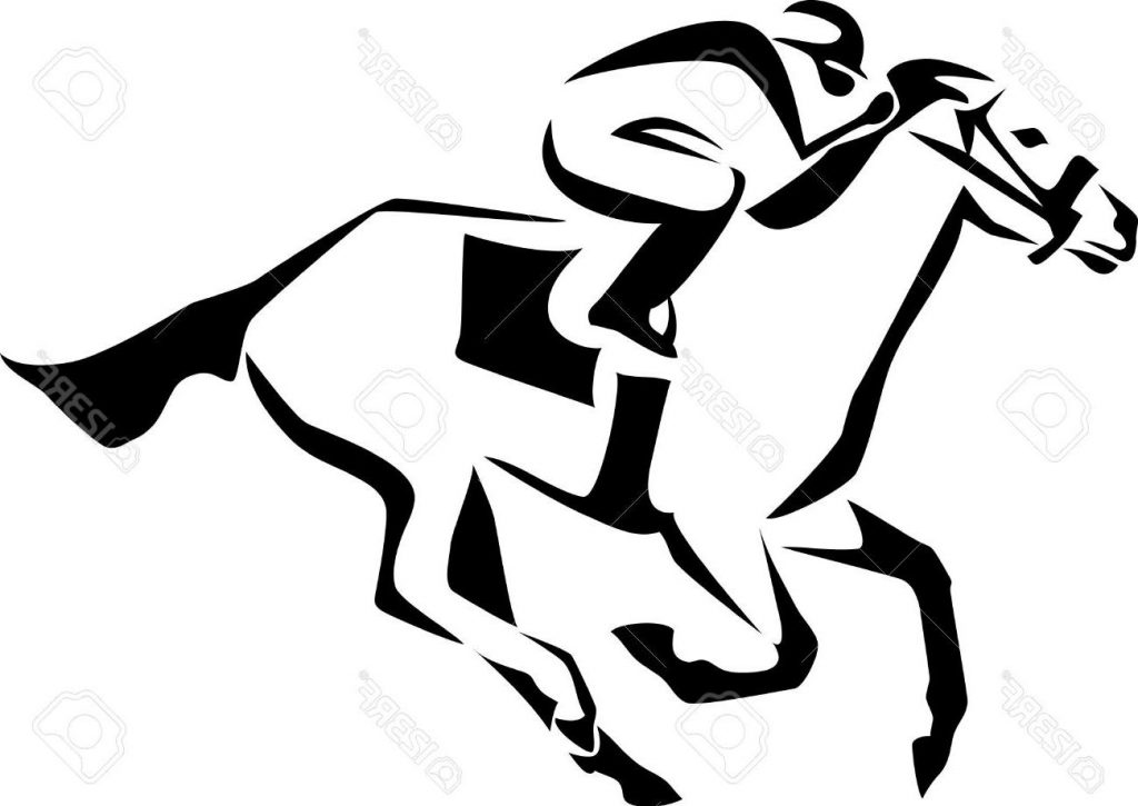 1024x725 Best Horse Race Logo Stock Vector Jockey File Free