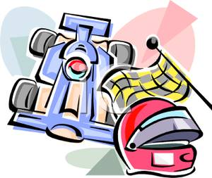 Racecar Clipart