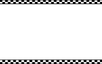 336x212 Checker Flag Clipart Borders