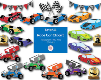 340x270 Race Cars Clip Art For Personal And Commercial Use Nascar