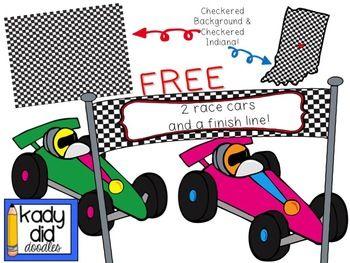 350x263 Race Car Clip Art