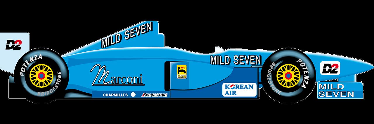 1280x427 Blue Race Car Clipart Clipartfest 2