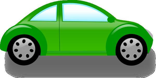 600x301 Green Car Clipart