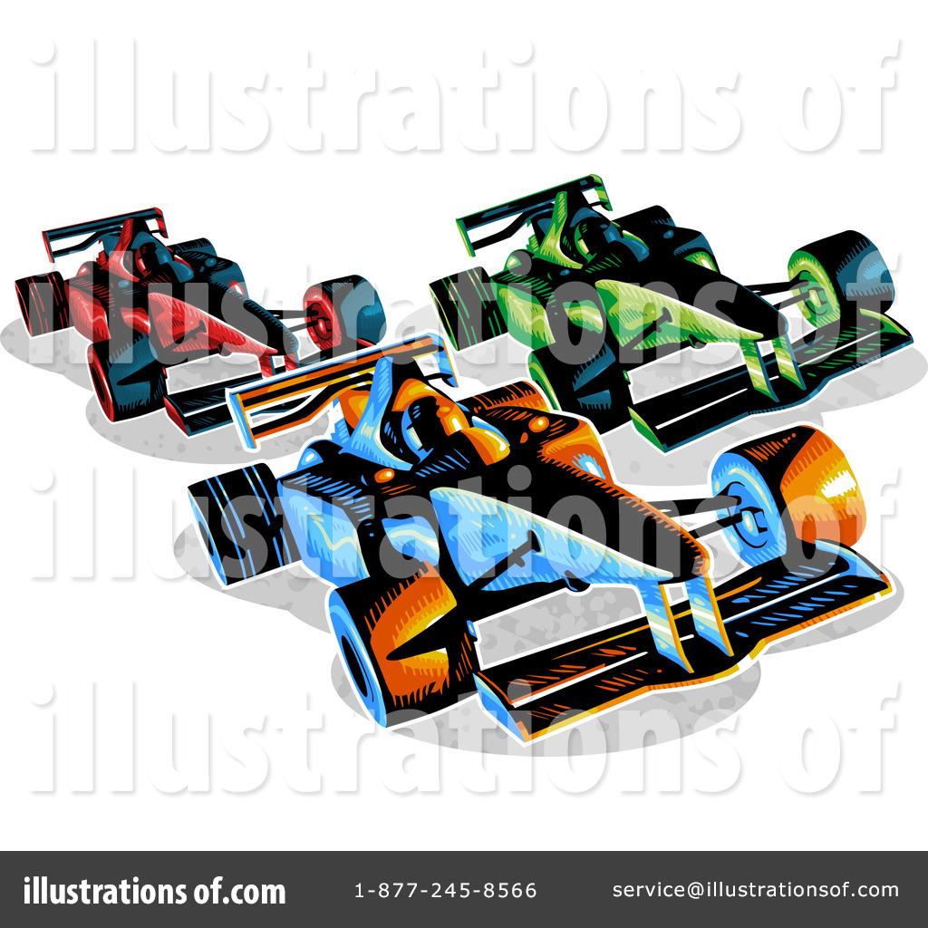 1024x1024 Race Car Clipart