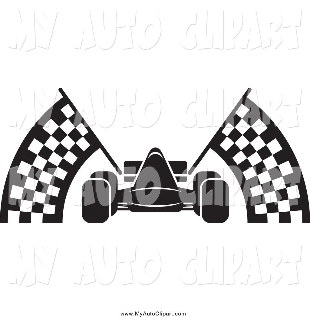 1024x1044 Race Car Flags Clipart