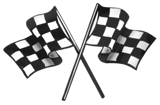 520x344 Racing Border Clip Art , Royalty
