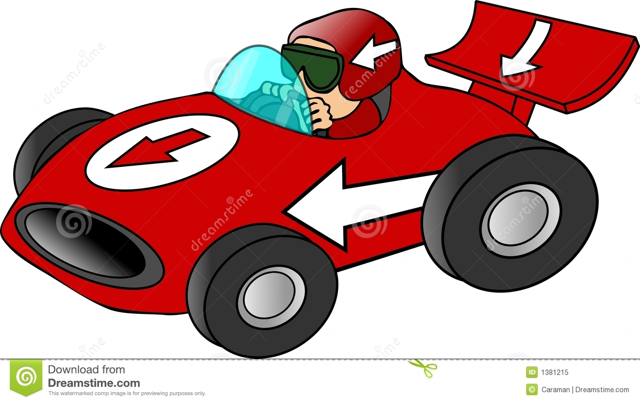 1300x819 Red Race Car Clipart