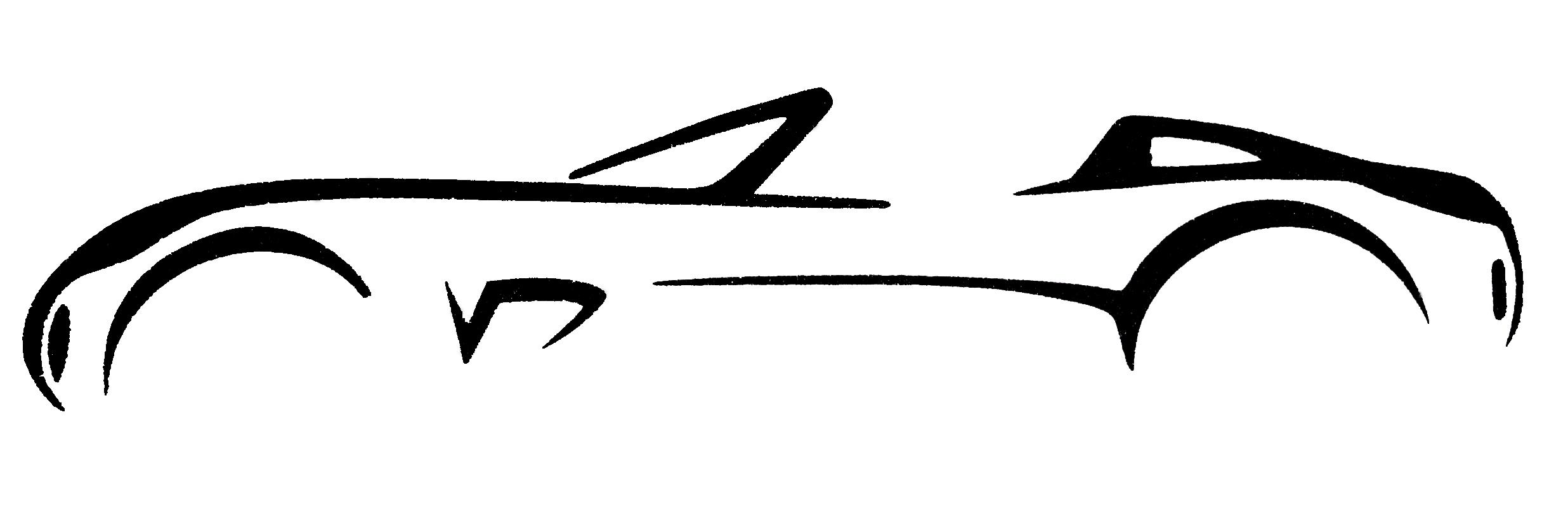 2472x800 Car Clipart Logo