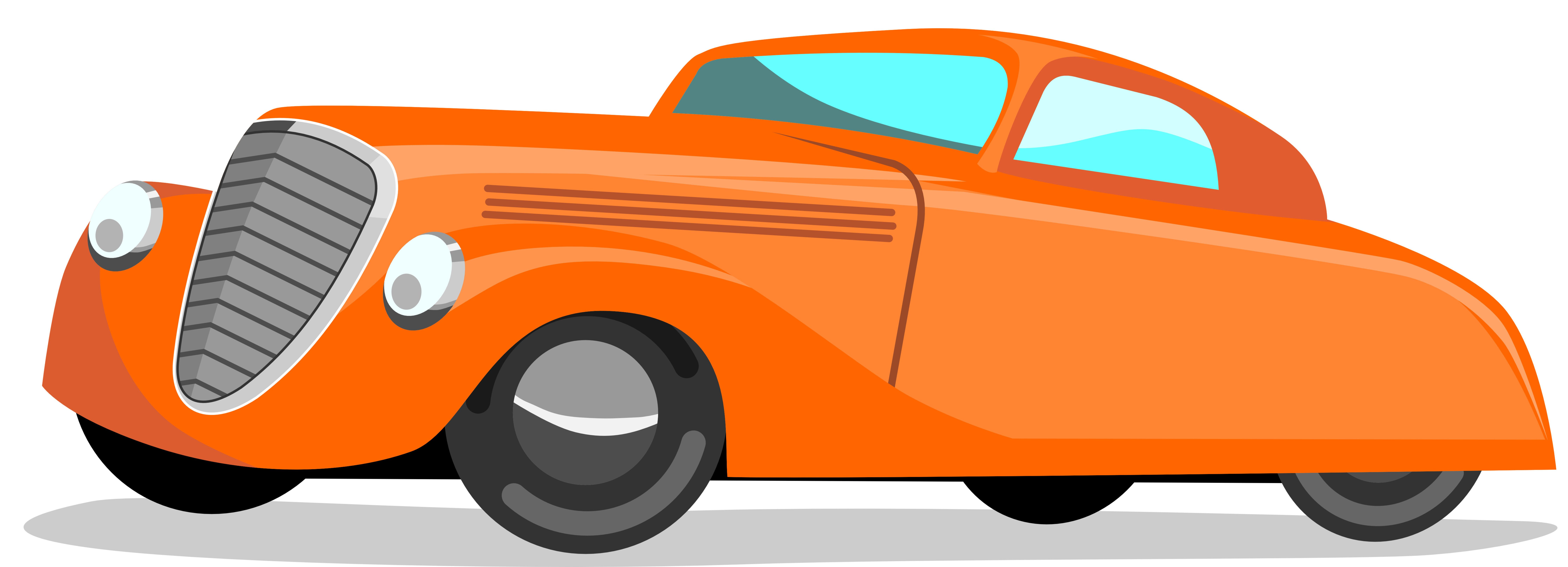 8928x3231 Cartoon Car Clipart