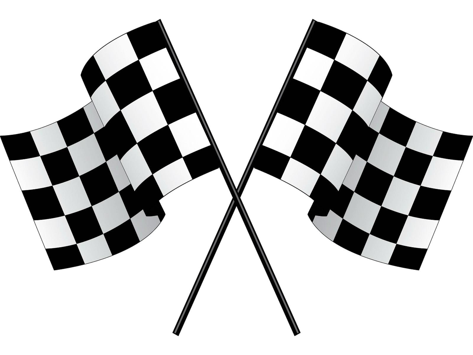 1600x1200 Checkerboard clipart race car