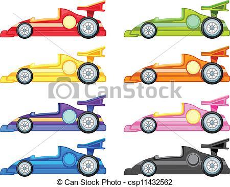 450x366 Race Cars Clip Art