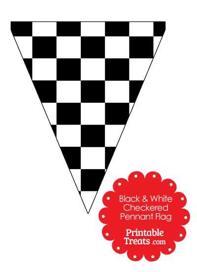 400x550 Checkered Flag Banner Clipart