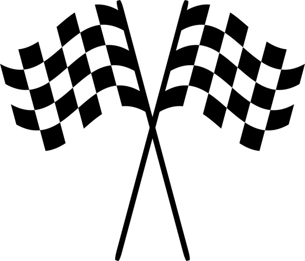 600x513 Checkered Flag Logo Free Vector Download (70,306 Free Vector)