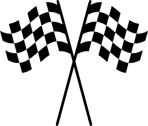 600x513 Checkered Flag Logo Free Vector Download (70,306 Free Vector)