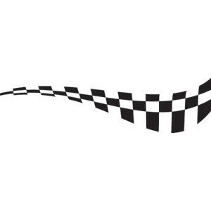 300x300 Racing Amp Checkered Flags Eps Vector Sign Clipart