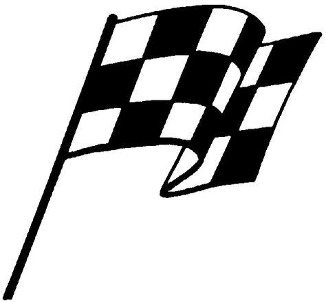 474x439 Chequered Racing Flags Vector Silhouette Silhouette Clip Art