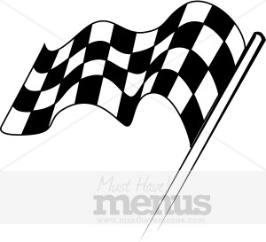 300x273 Racing Flag Clipart Sports Clipart