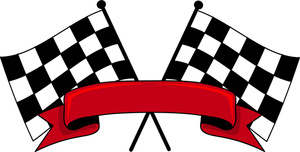 300x152 Racing Flags Clip Art