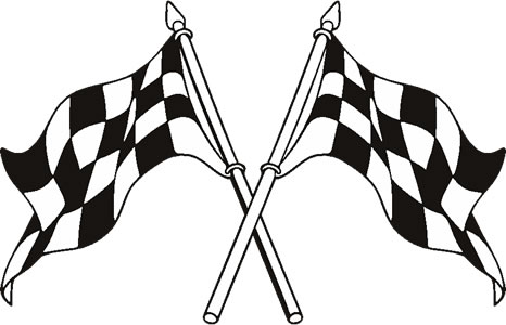 466x300 Racing Flag Flag Decals In Vector Clipart