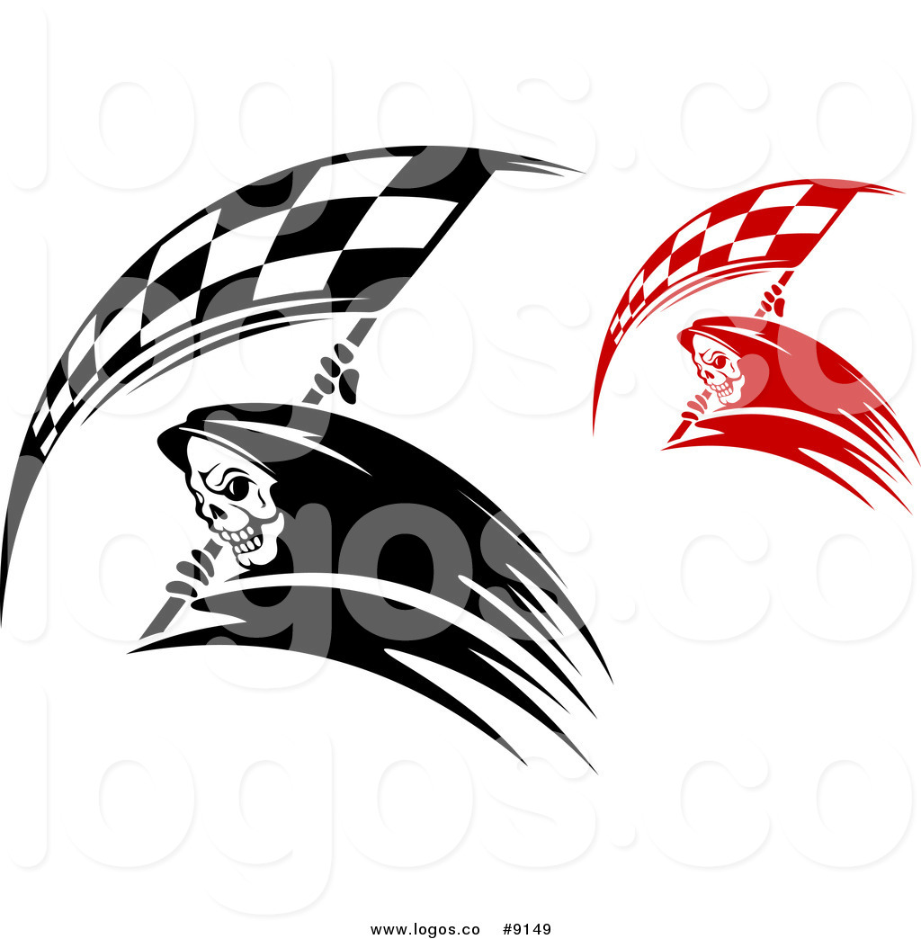 1024x1044 Royalty Free Clip Art Vector Logos Of Black And White And Red Grim