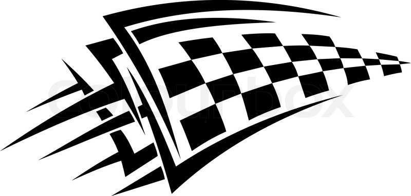800x383 Checkered Flag Clip Art Free Vector In Open Office Drawing Svg