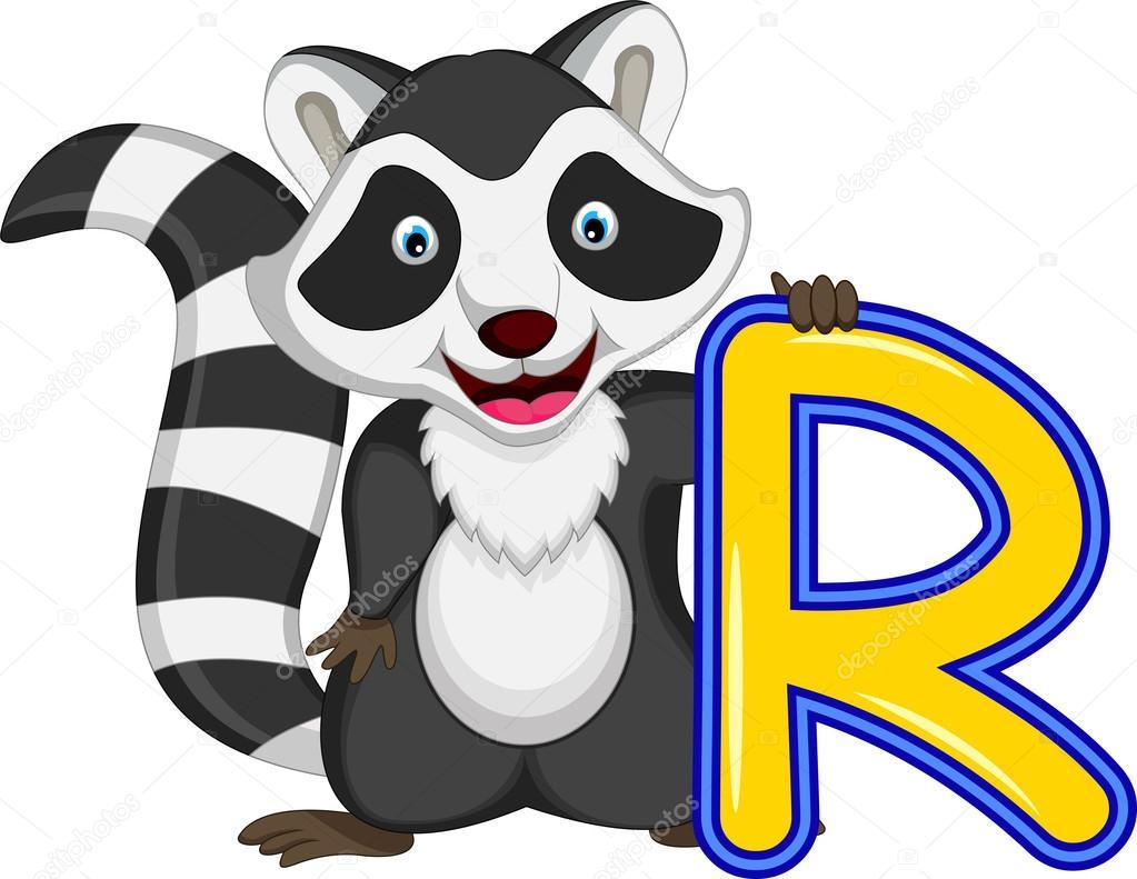 1023x791 Raccoon Cartoon Posing Stock Vector Starlight789