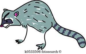 300x189 Racoon Clip Art And Stock Illustrations. 71 Racoon Eps