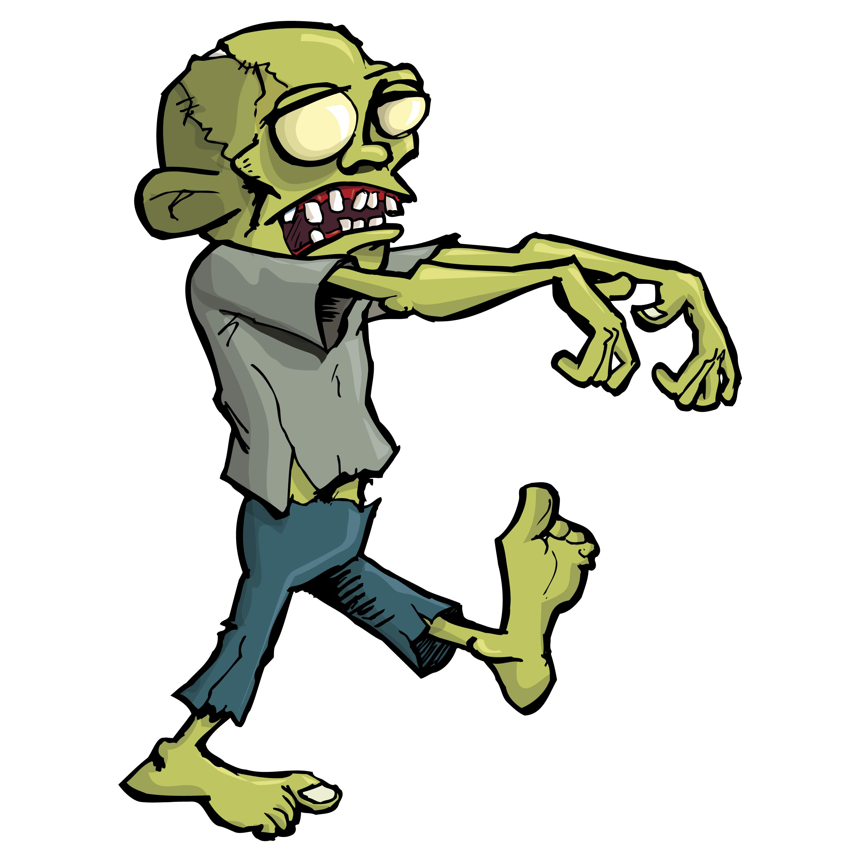 2800x2800 Zombie Clip Art