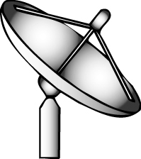 199x224 Radar Dish Clipart