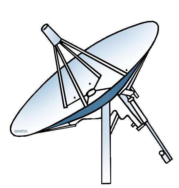 617x648 Satellite Dish Clipart