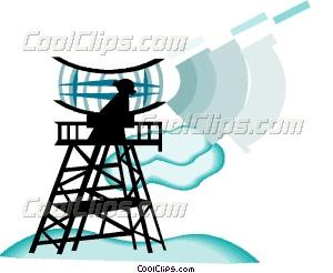 300x246 Radar Antenna Vector Clip Art