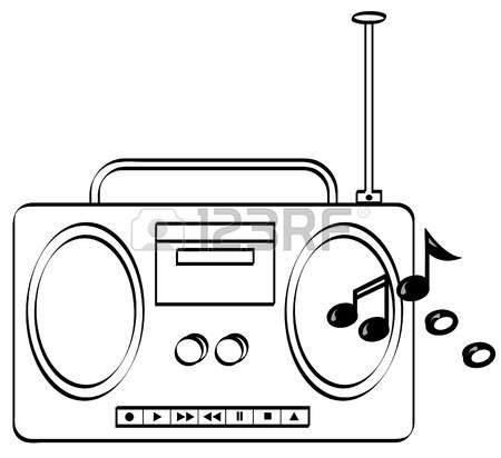 radio clipart free download best radio clipart on With la1800 fm radio