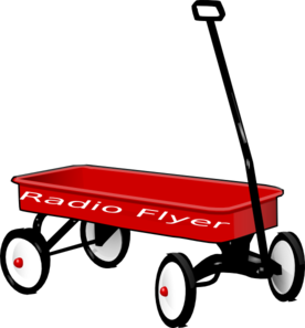 276x297 Radio Flyer Clip Art