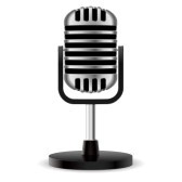 168x168 Microphone Clipart Radio Microphone