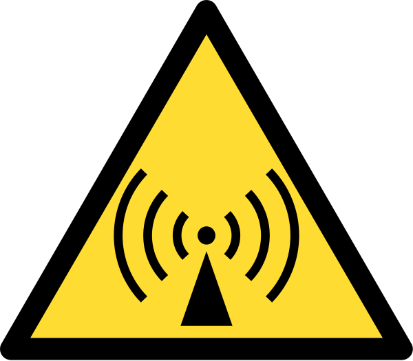 600x525 Fileradio Waves Hazard Symbol.svg