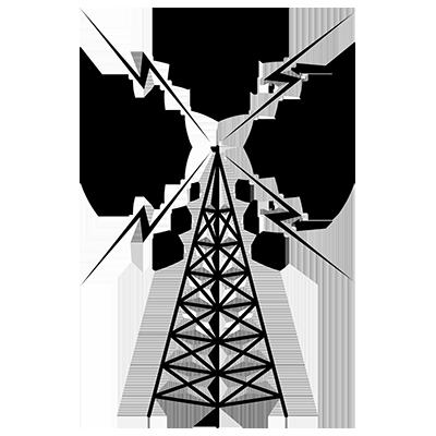 400x400 Radio Tower Clip Art