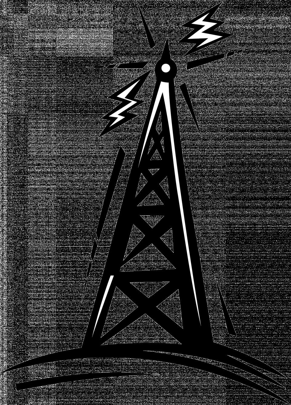 960x1335 Radio Tower Clip Art Many Interesting Cliparts