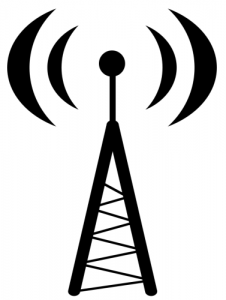 226x300 Wave Clipart Antenna