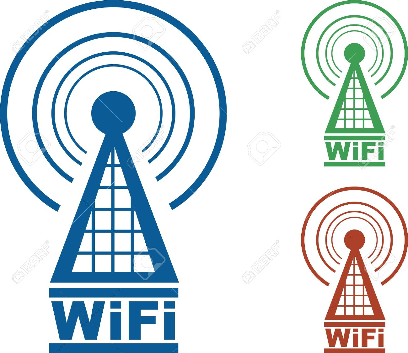 1300x1126 Wave Clipart Wifi