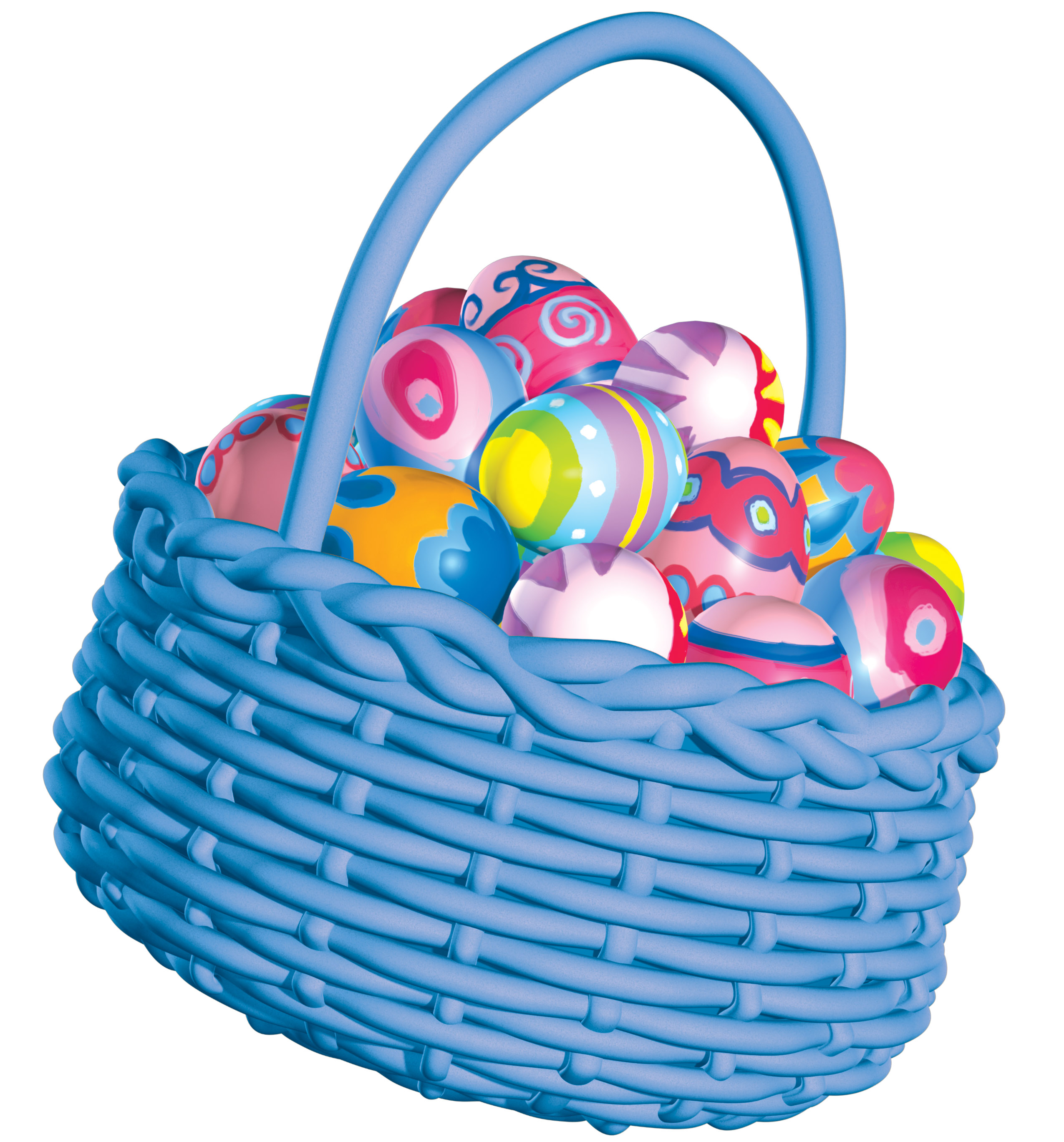 2550x2736 Easter Basket Ideas Clipart