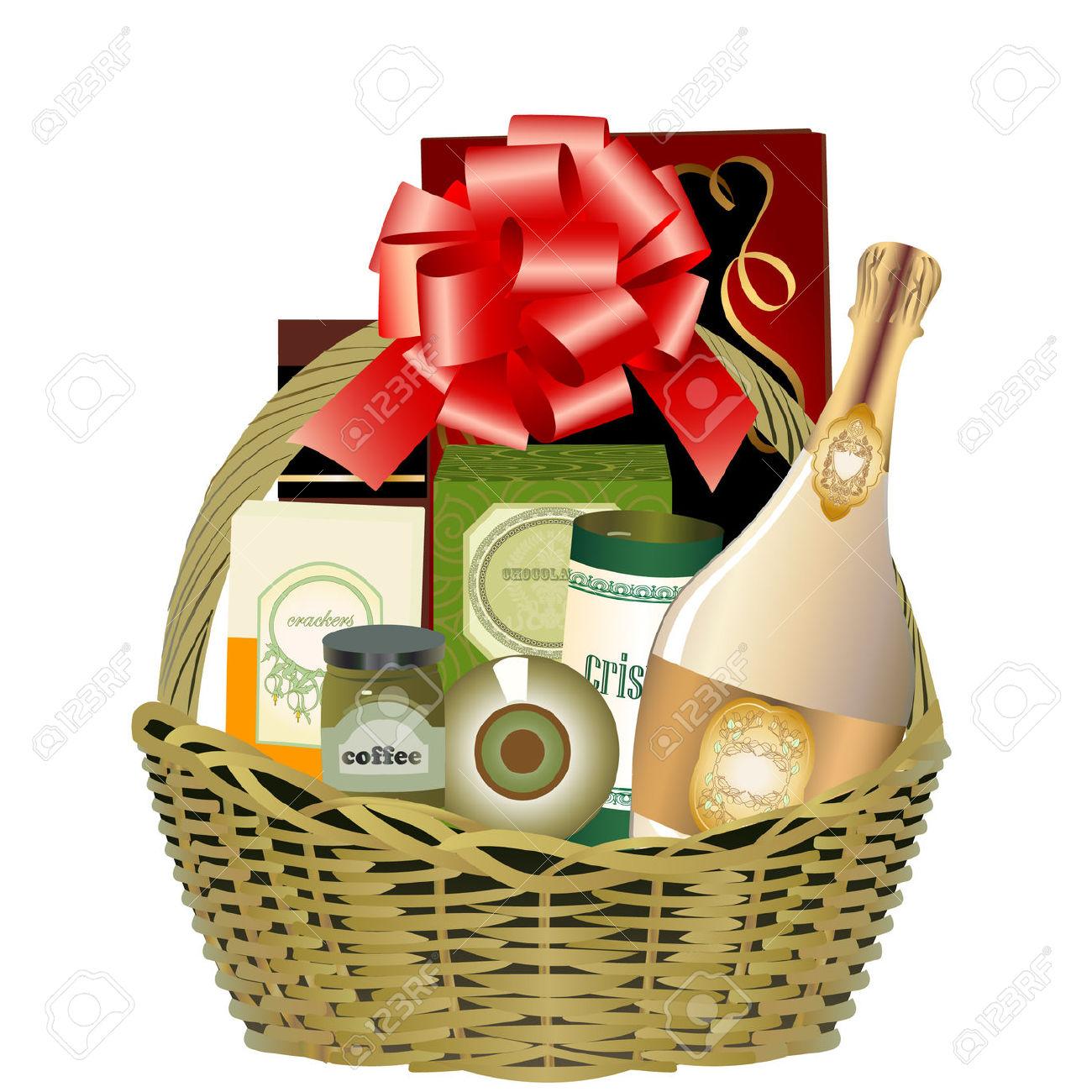 1300x1300 Best Gift Basket Clip Art